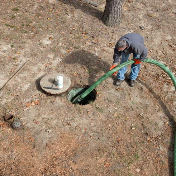 1000 Gallon Septic Tank Installation