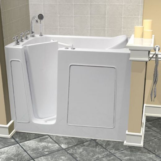 Accessible Bathtub Installation